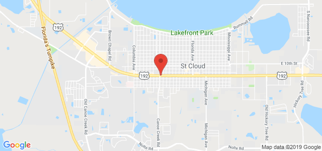 St. Cloud Florist & Gift Shop Map