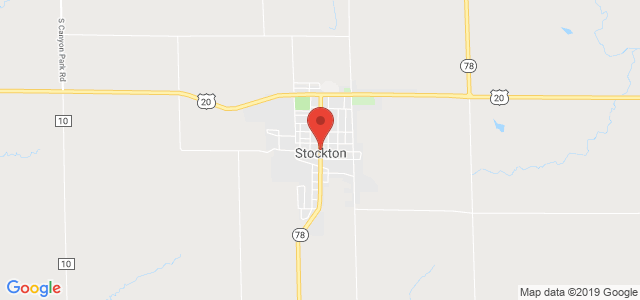 Stockton Floral & Gifts Map