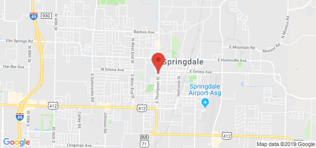 Springdale Flower Shop Map